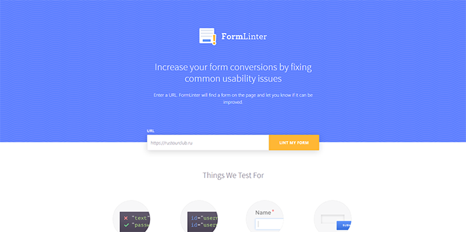 form-linter